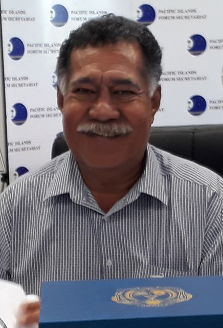 Ulu o Tokelau, Hon Afega Gaualofa at the 49th Pacific Leaders Forum in Nauru